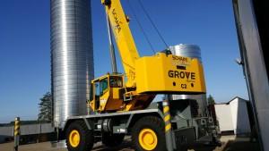 50 Ton Grove Crane
